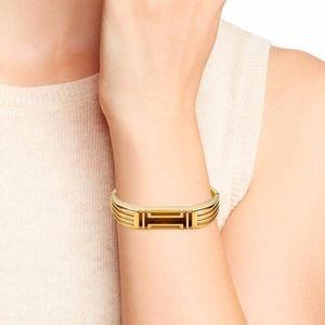 Authentic TORY BURCH Gold Fit Bit Flex 2 Bracelet